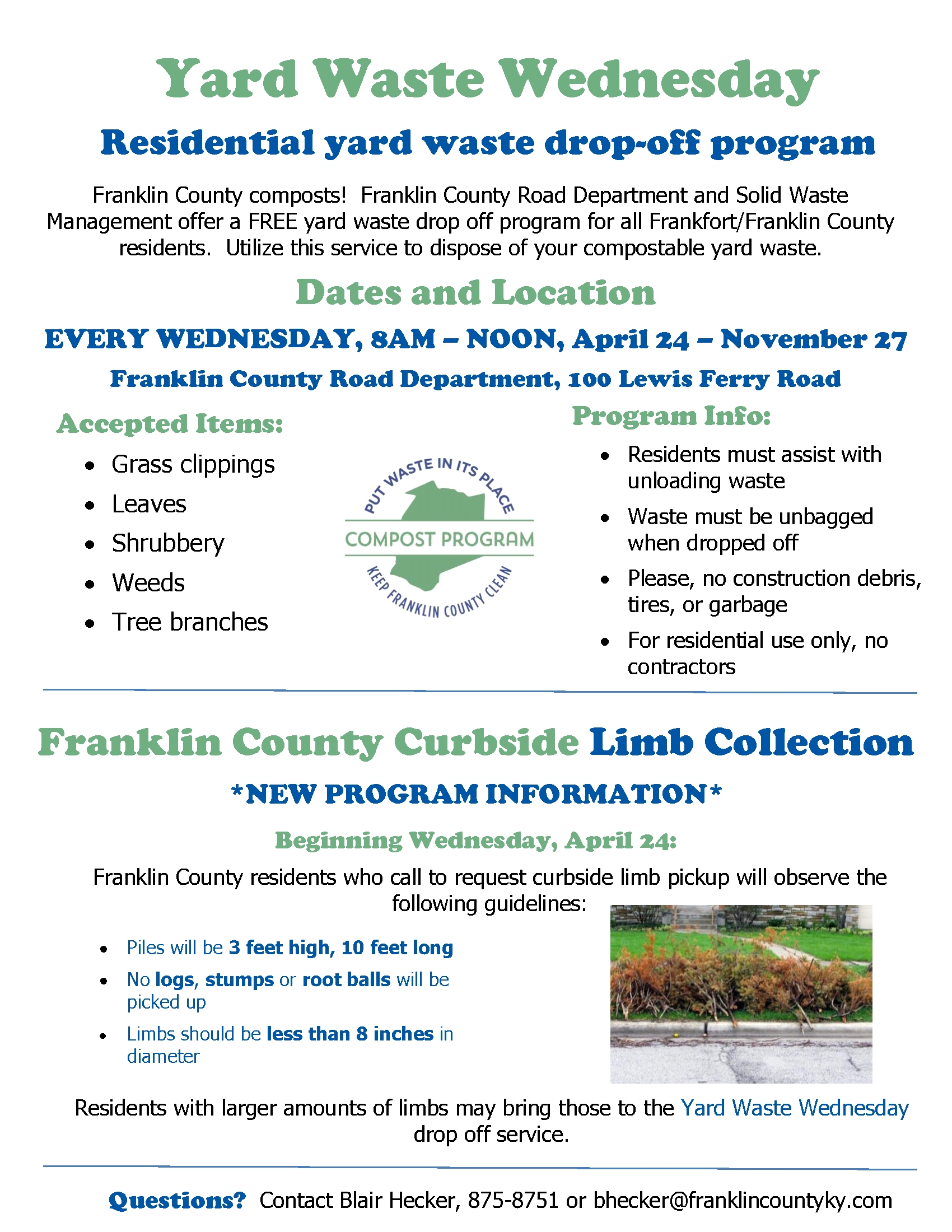 Solid Waste Management | Franklin County